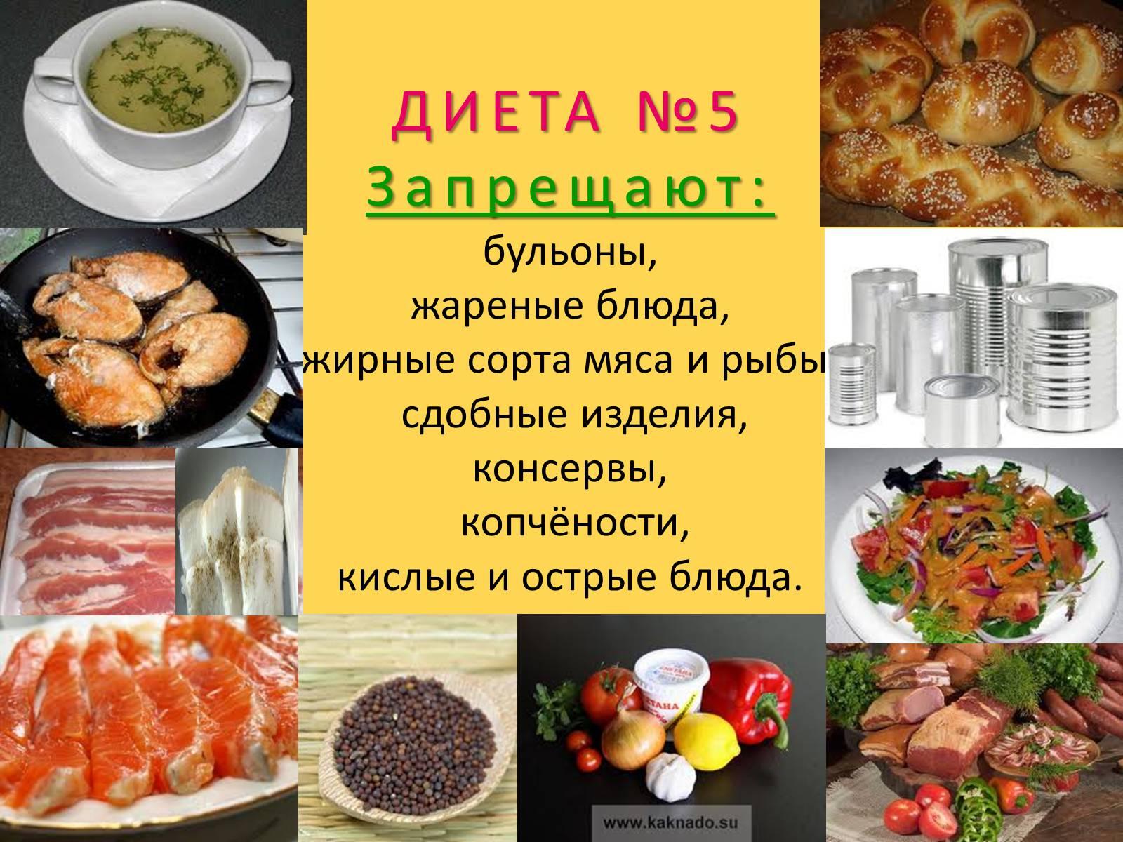 Мясо диета номер 5