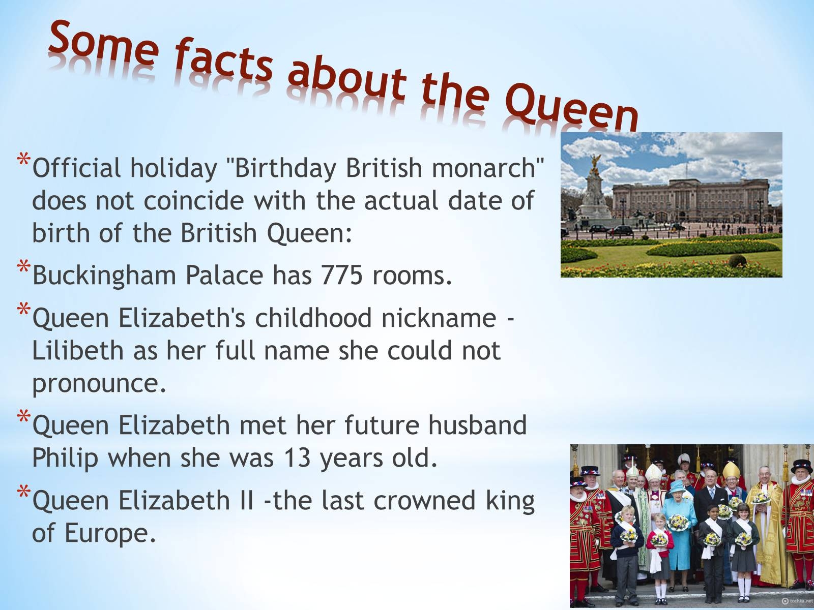 Презентація на тему «Some interesting facts about Great Britain» - Слайд #5